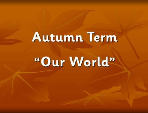 Autumn Term 1